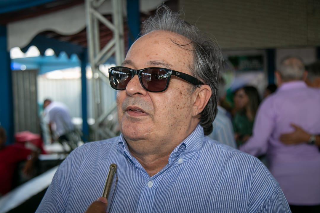 Prefeito de Conceição de Macabu-RJ visita 37ª Exposição de Teixeira de Freitas