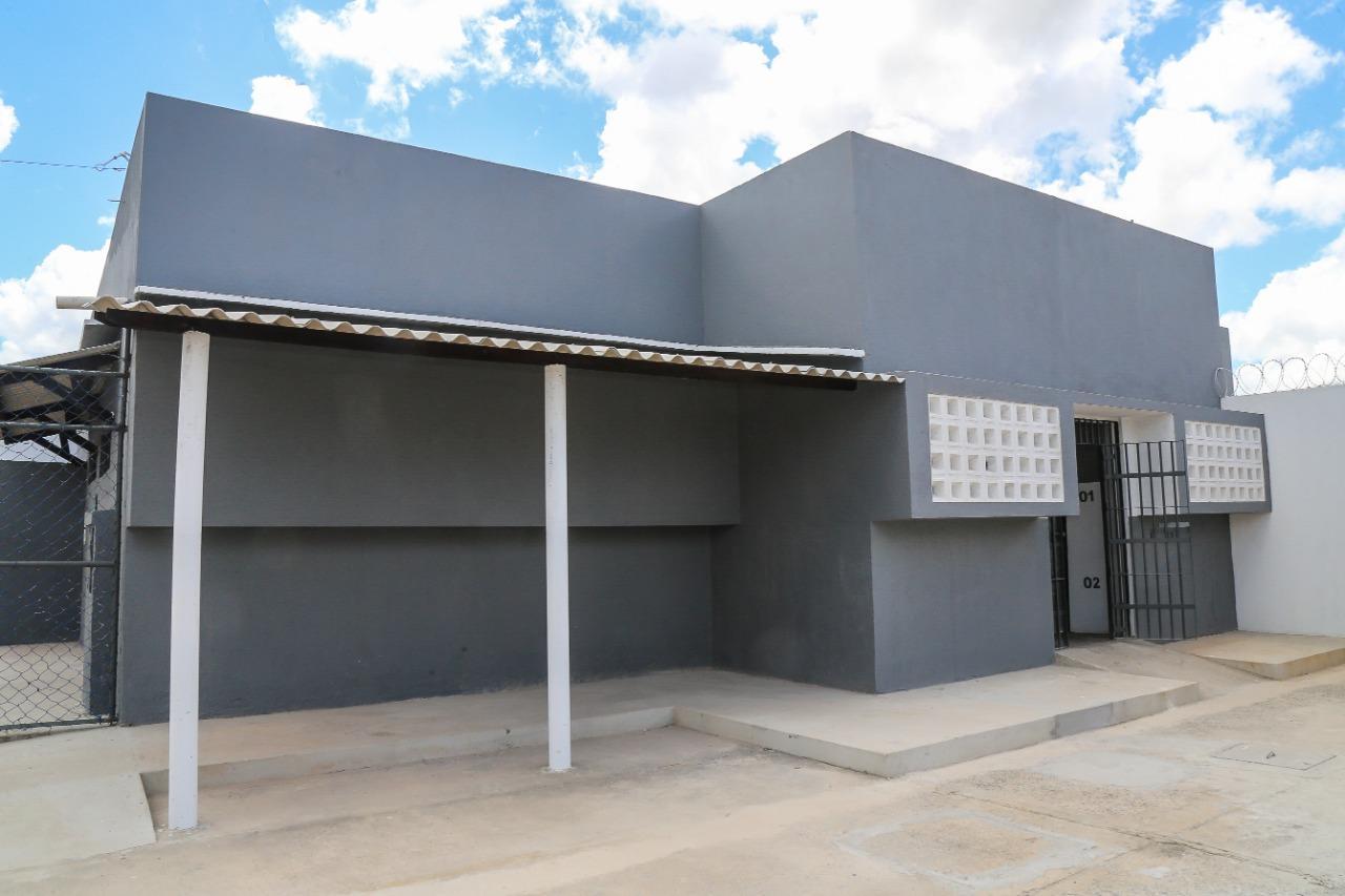 PMTF participa de inauguração das novas instalações do módulo de vivência semiaberto do Conjunto Penal de Teixeira de Freitas