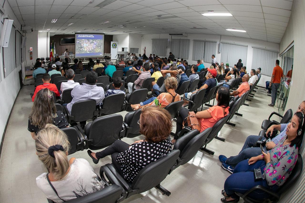 PMTF participa da segunda audiência pública para discutir contrato com a Embasa