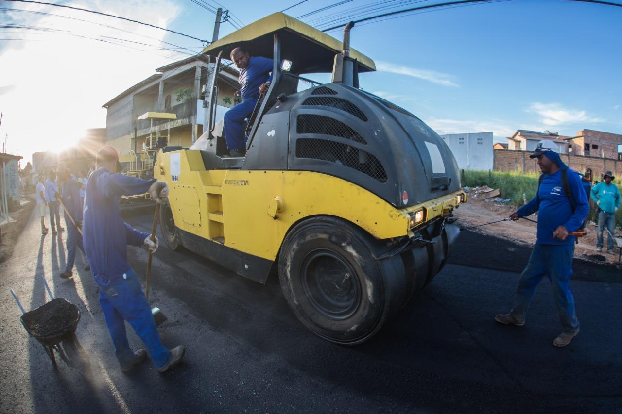 Terceira etapa da rua Macaúba é finalizada nesta sexta-feira, 20