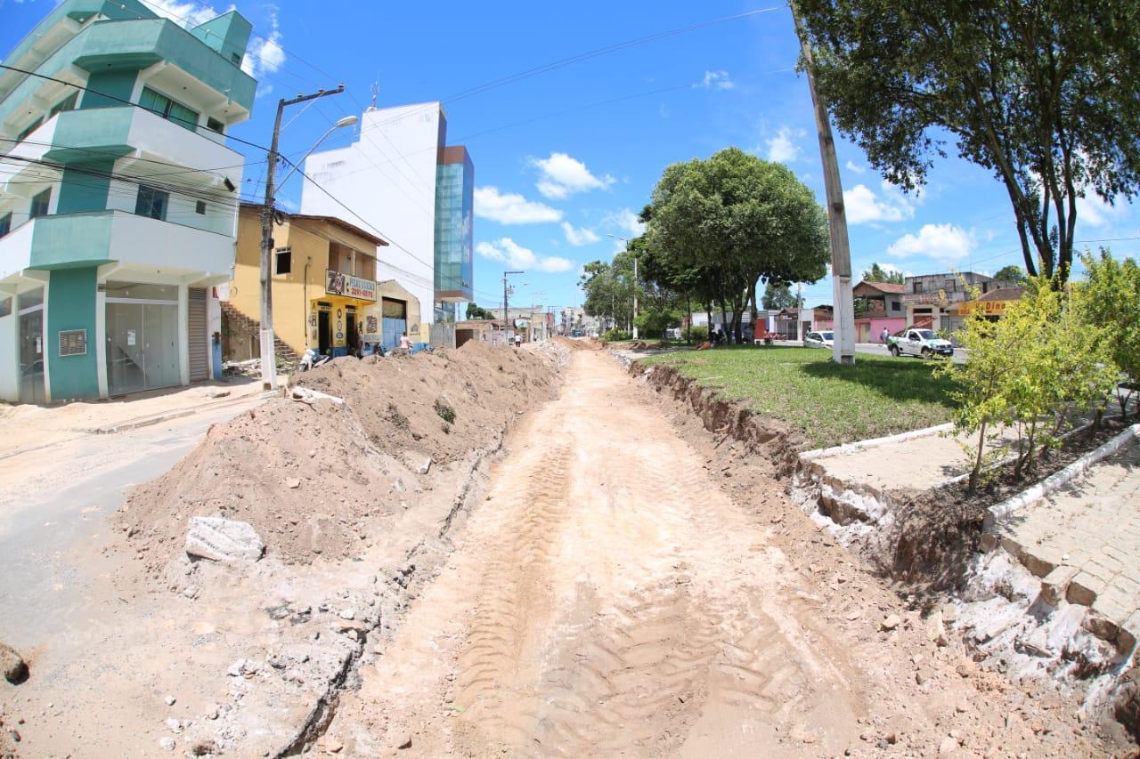 Prefeitura de Teixeira de Freitas vai ampliar as vias entre o posto Pioneiro e Hospital Municipal