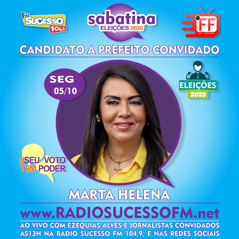 Rádio Sucesso 104,9 FM e TVFF realiza com sucesso primeira semana de sabatina dos candidatos a prefeito de Teixeira de Freitas.